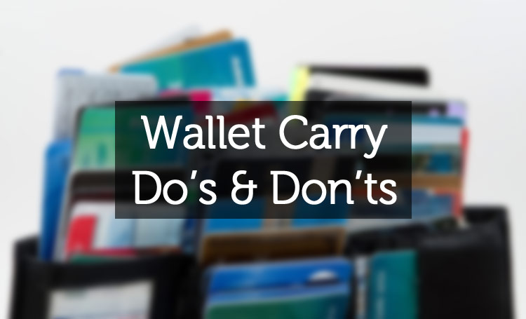 what to carry in your wallet