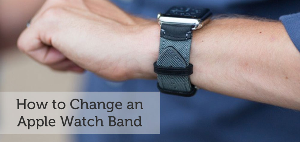 change apple watch band how to