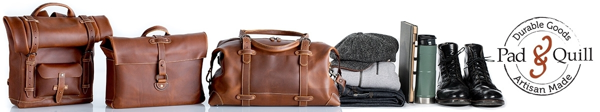 Crafted Leather Travel Bags