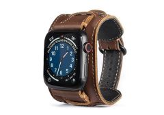 Cafe Cuff Apple Watch Leather Bands