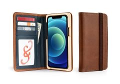 Luxury Pocket Book iPhone 12 Wallet Cases