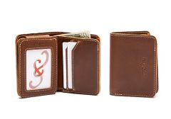 Mens Slim Trifold Leather Wallets