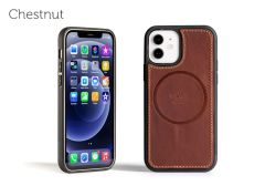 LeatherSafe™ Case for iPhone 12/ 12 Pro-Chestnut