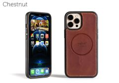 LeatherSafe™ Case for iPhone 12 Pro Max-Chestnut