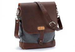 Field Bag Waxed Canvas Messenger Bag