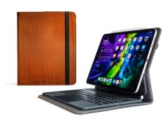 Aged Whiskey Oxford iPad Pro 11 Leather Cases