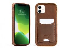 Deluxe Traveler Slim Leather iPhone 11 Case