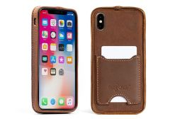 Deluxe Traveler Protective iPhone XS Max Case-Whiskey