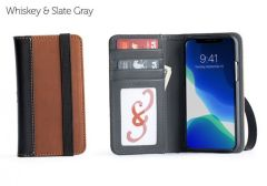 Aria iPhone 11 Pro Wallet Cases-Whiskey-Standard Strap