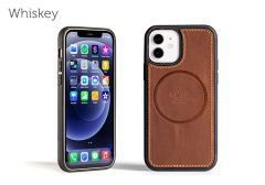 LeatherSafe™ Case for iPhone 12 / 12 Pro-Whiskey
