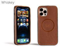 Traveler LeatherSafe™ Case for iPhone 12 Pro Max-Whiskey