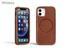 Traveler LeatherSafe™ Case for iPhone 12 / 12Pro-Whiskey