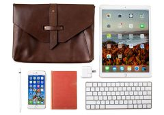 Valet Leather iPad Pro 12.9 Bag