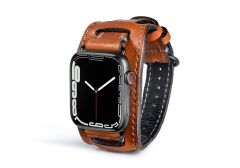 Aged Whiskey Lowry Cuff For Apple Watch