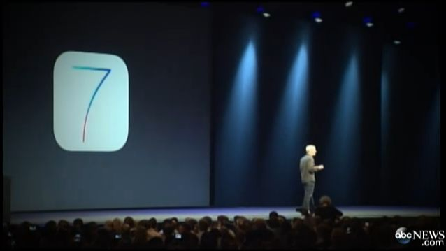 Apple Unveils iOS 7 at Worldwide Developers Conference