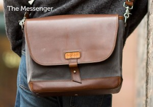 "Pad and Quill's ""The Messenger Bag"""