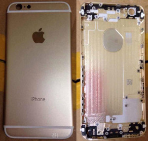 Rumored Shell pieces of iPhone 6 4.7 from production