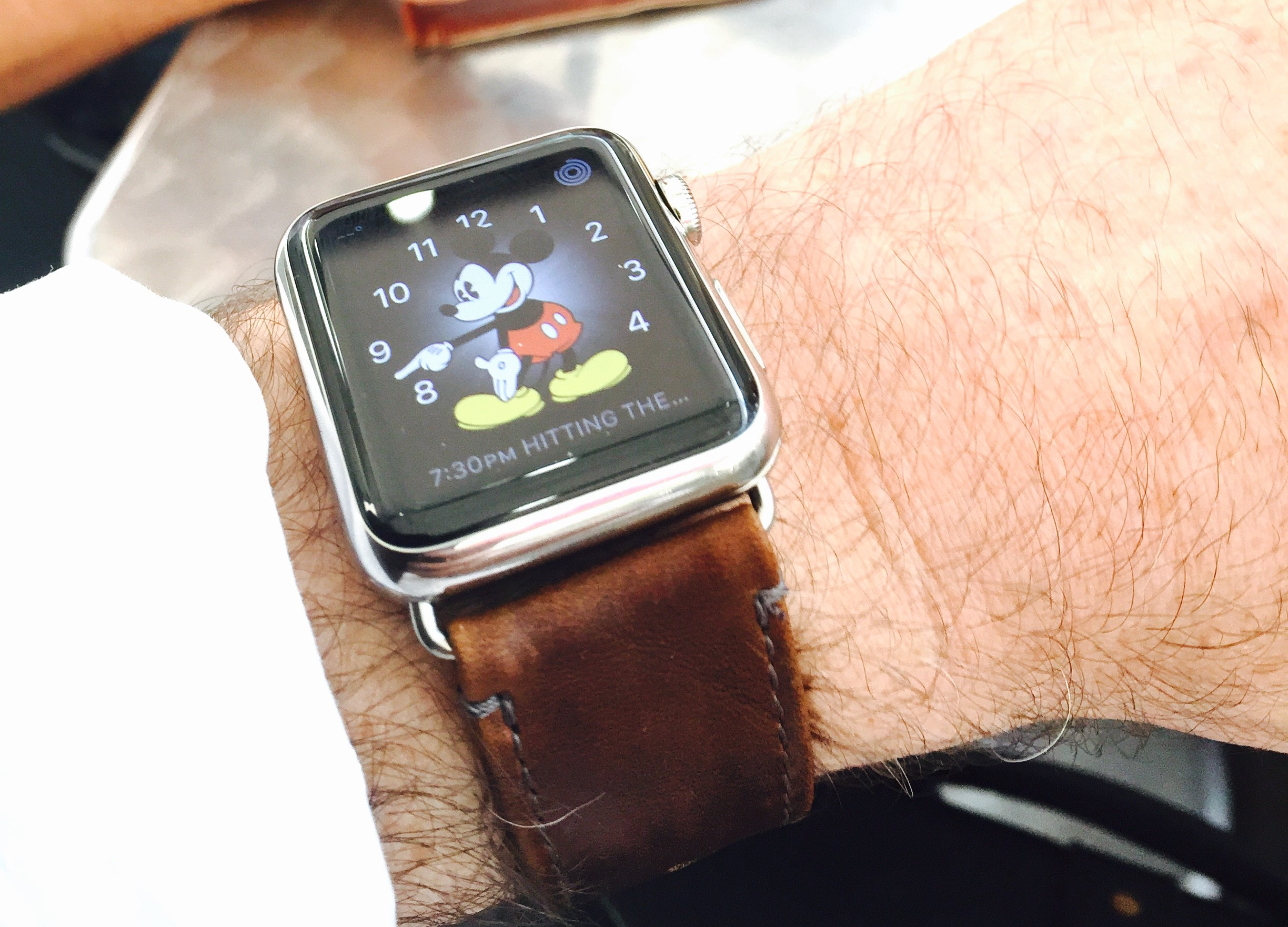 Another Apple Watch comes home
