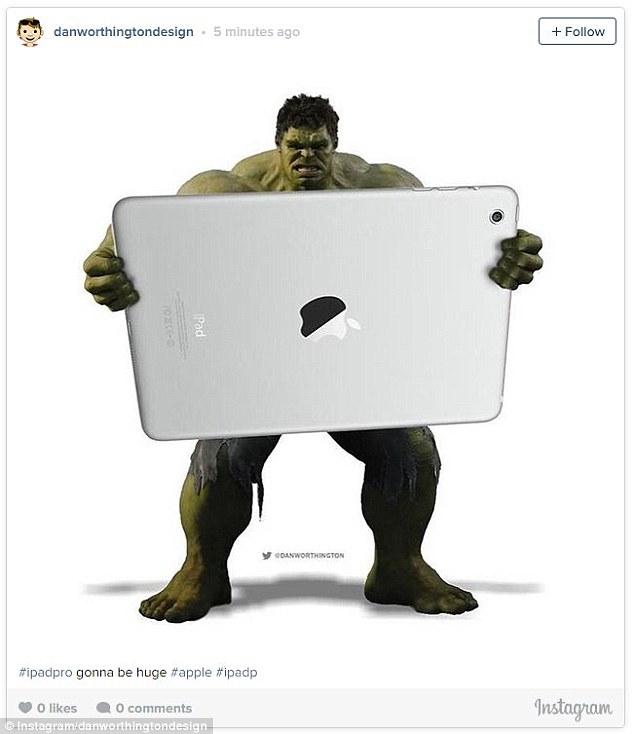 Hulking iPad Pro