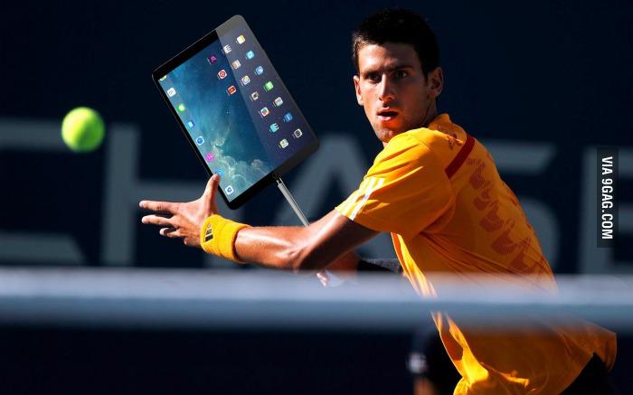 iPad Pro + iPad Stylus = iTennis