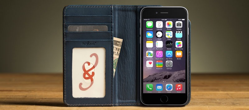 Meet the Bella Fino Slim Leather Wallet Case for iPhone 6 & 6s