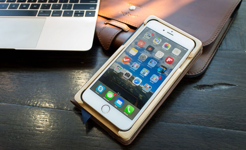 wooden case for iPhone 6 & 6s Plus