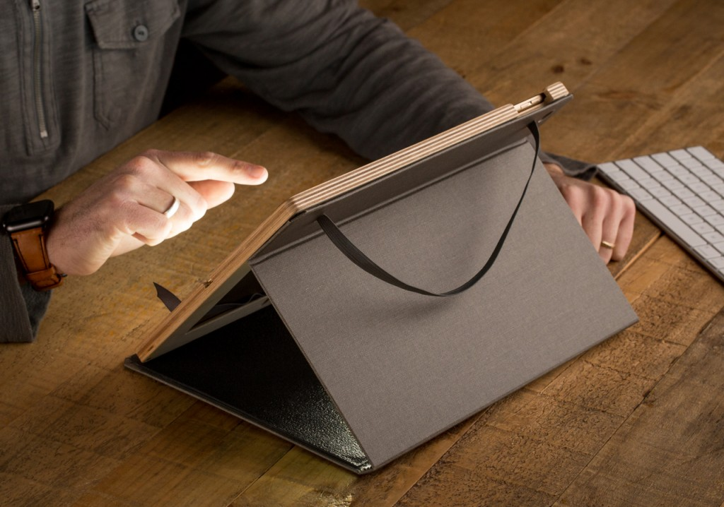 The Contega folio case for iPad pro