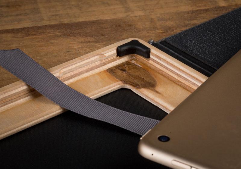 wooden iPad Pro Case