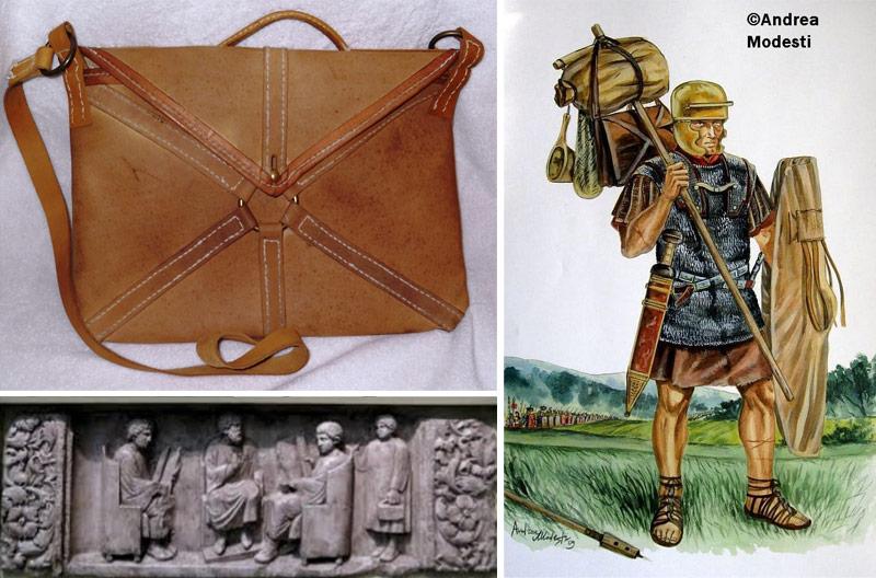 roman loculus bag briefcase