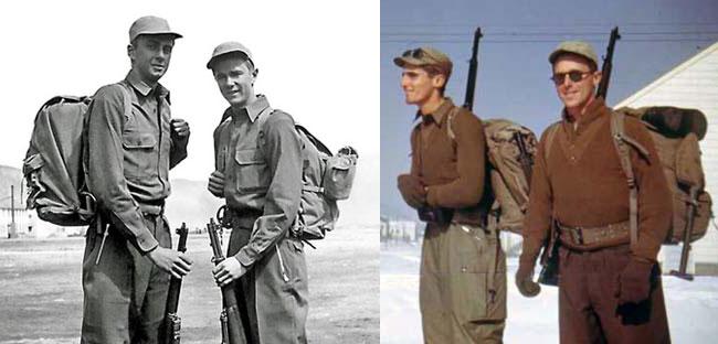 WWII backpacks