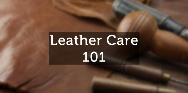 how to care for leather