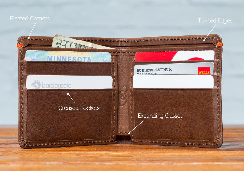best mens leather wallet