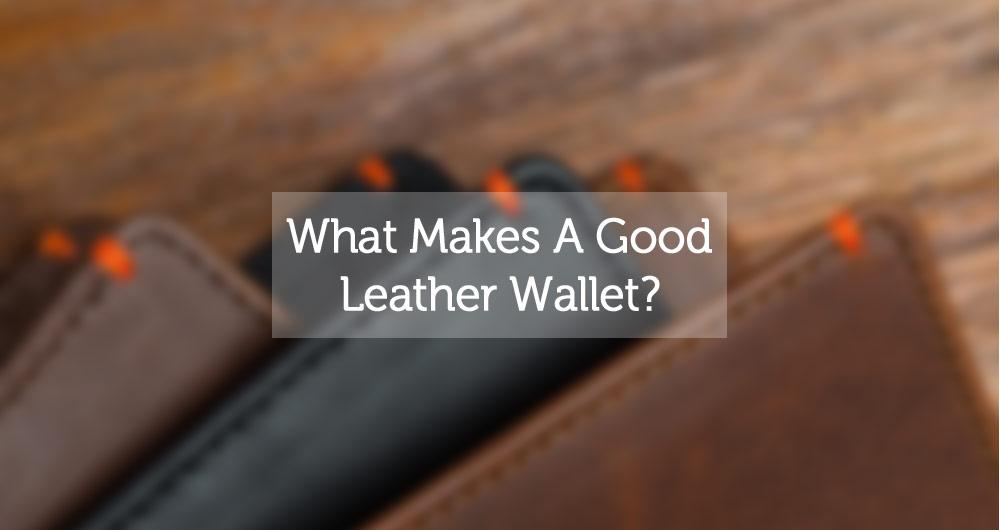 best leather wallet for men