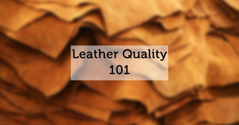 guide to leather