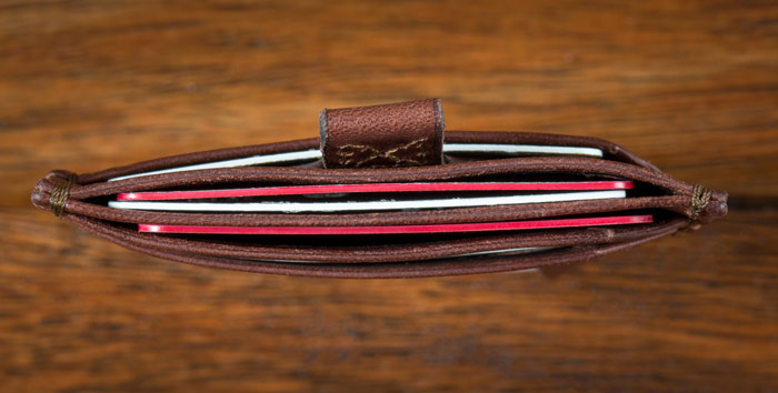 best slim leather wallet
