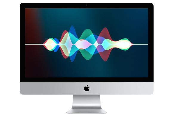MacBook siri