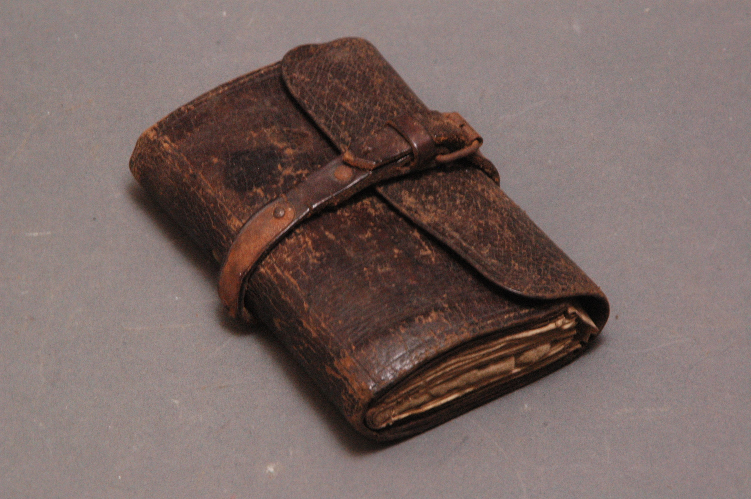 leather wallet history