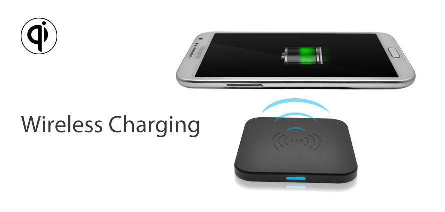 wirelessly charge iphone 8