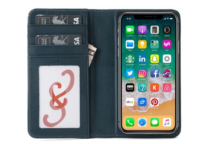 bella fino iphone x wallet case
