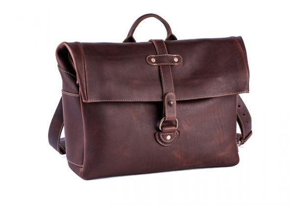 leather satchel bag for men