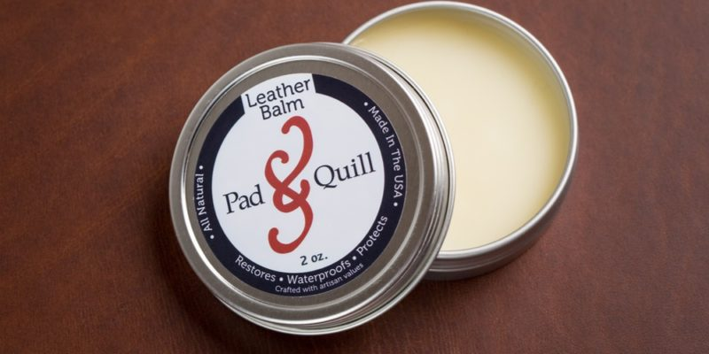 waterproofing balm for leather