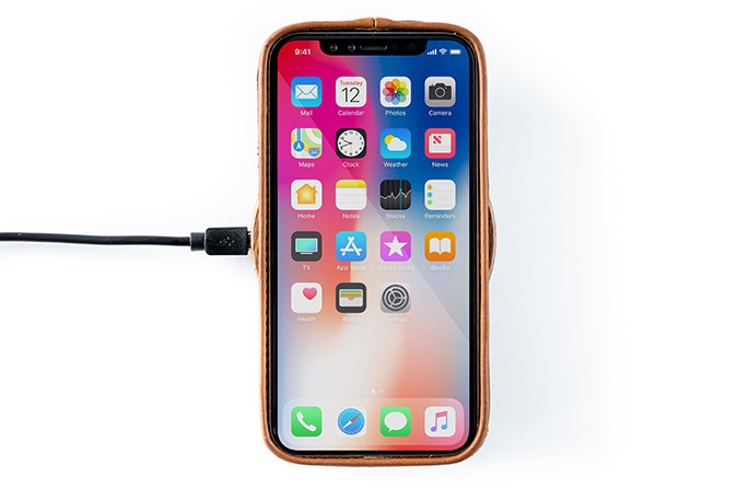 protective leather iphone xr case