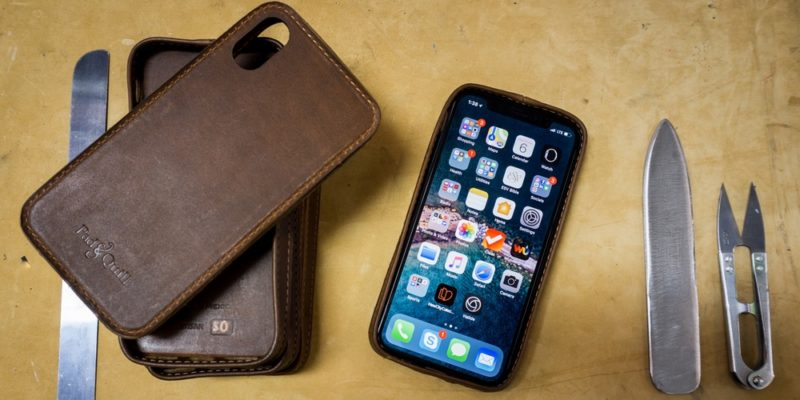 leather iphone xr case