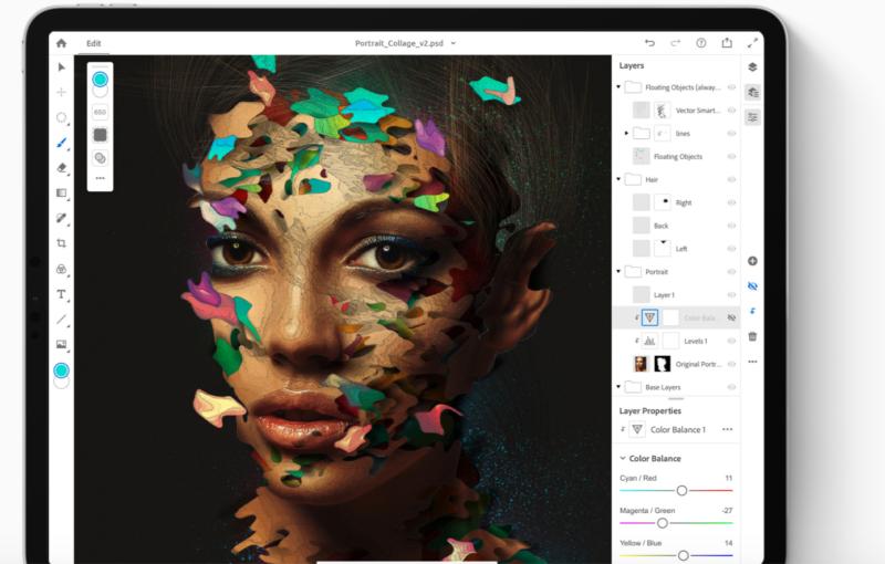 is photoshop on ipad pro good?