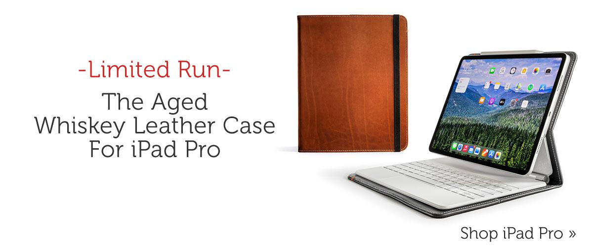 Aged Leather Whiskey iPad Pro Case