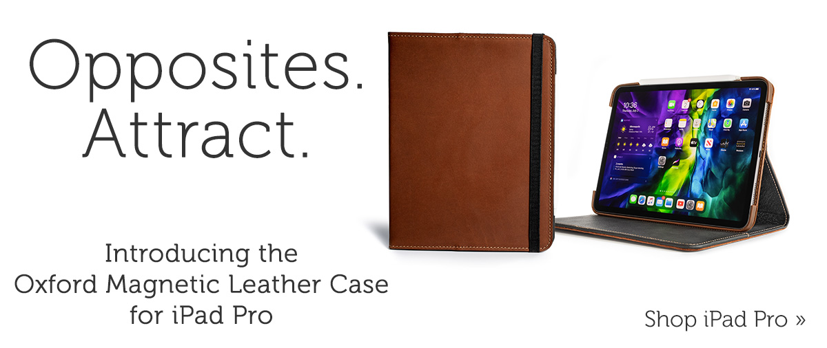 Oxford Magnetic Leather Case for iPad Pro